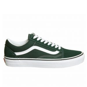 Green vans old school