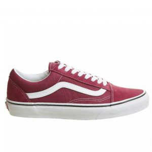 red vans old school