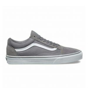Gray vans old school