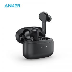 Anker Soundcore Liberty Air TWS True Wireless Earphones With Bluetooth 5, Touch Control, And Noise-Cancelling Microphones And Secure Fit – Black
