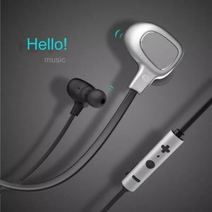 Baseus B15 Seal Bluetooth Sports Handsfree With Mic Noise Reduction For All Smartphones [NGB15-0S]- Black