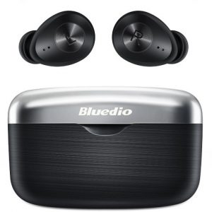 Bluedio Fi TWS Wireless Earbuds Bluetooth Aptx Waterproof – Black