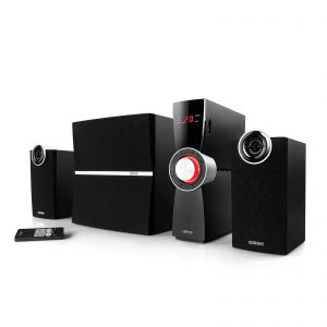 Edifier C2XD 2.1 Channel 53 Watt Speaker System With Edifier's Signature Distortion Control Technology.