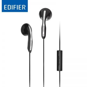 Edifier P180 Earphones With Mic And Inline Control – Stereo Handsfree With Micr And Remote For IOS And Android Smart Phones-Black