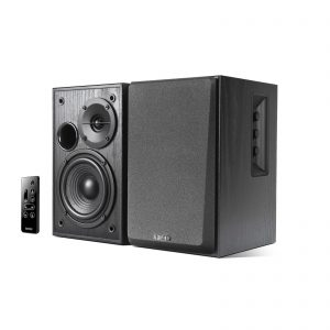 Edifier R1580MB Active 2.0 Speakers ,Dual Microphone Inputs-Black
