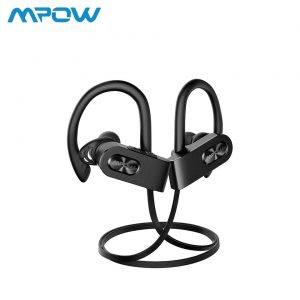 Flame 2 Bluetooth Earphones Sports Water Resistant By MPOW – Black