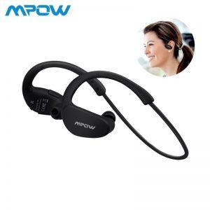 Mpow Cheetah MBH6 Bluetooth 4.1 Aptx Codec Sports Earphones Waterproof – Black