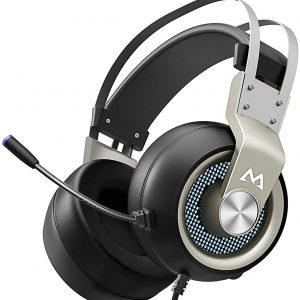 Mpow EG3 Pro – Over Ear Gaming Headset With 7.1 Surround Sound, Compatible With PC,