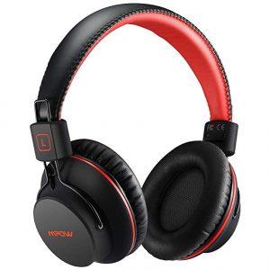 Mpow H1 X3.0 Bluetooth Over-Ear Headphones – RedBlack