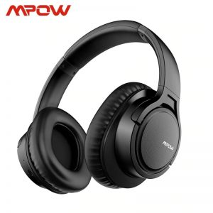 Mpow H7 Bluetooth Headphones Over Ear, Comfortable Wireless Headphones, R