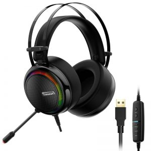 Tronsmart Glary Gaming Headset With 7.1 Virtual Sound – Black