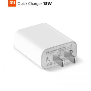 Xiaomi MDY-08-EH USB QC3.0 18W Travel Charger US Plug – White (Without Retail Packaging)