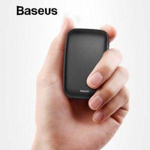Baseus Mini Q Power Bank 10000 MAh [PPALL-BXQ01]- Black