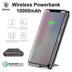 Baseus Qi Wireless Power Bank PD QC 3.0 10000 Mah – Black